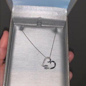 White gold Zales necklace